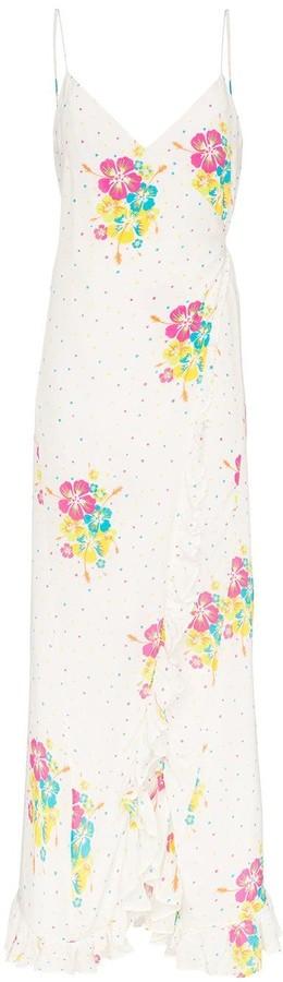 All Things Mochi Melanie floral print maxi dress