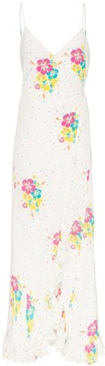 All Things Mochi Melanie floral print maxi dress