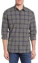 Billy Reid Men's John T Standard Fit Plaid Sport Shirt