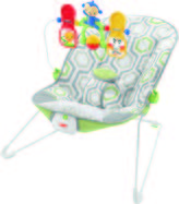 Fisher-Price Babys Bouncer-Geo Medow