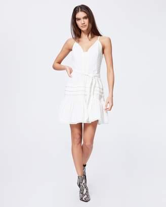 Paige NAHLA DRESS-WHITE