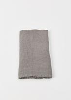 "Hawkins New York dark grey simple linen napkin 20""x20"""
