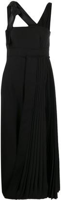 Prada Pleated Detail Dress