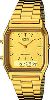 Casio Aq-230ga-9dmqyes Gold-toned Stainless Steel Watch
