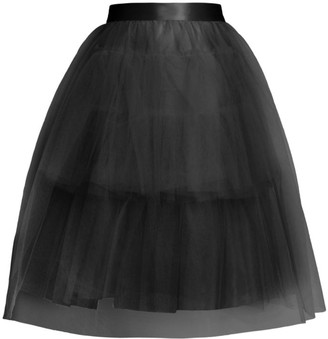 Simone Rocha Full Tiered Tulle Tutu Skirt