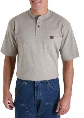 Riggs Workwear Men's Big & Tall Short Sleeve Henley
