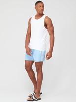 adidas 3 Stripe Swim Shorts - Blue