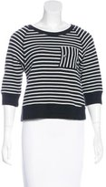Boy By Band Of Outsiders Striped Knit Sweater