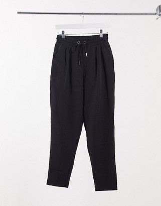 New Look formal jogger in black