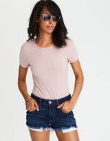 American Eagle Outfitters AE Soft & Sexy Short Sleeve Bodysuit