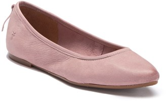 Frye Regina Leather Ballet Flat