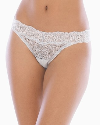 Soma Intimates Allover Geo Lace Thong