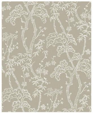 "Brewster Home Fashions Bonsai Tree Wallpaper - 396"" x 20.5"" x 0.025"""