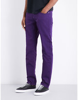 Ps By Paul Smith Overdyed Slim-fit Tapered Jeans