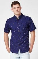 Katin Umbrellas Short Sleeve Button Up Shirt