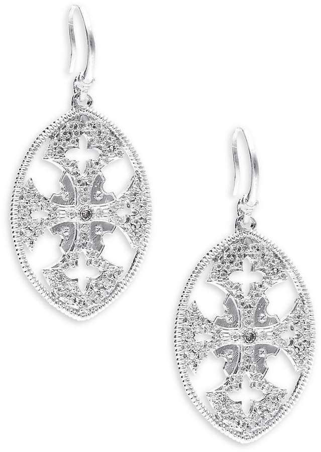 Armenta Women's New World Diamond & Sterling Silver Drop Earrings