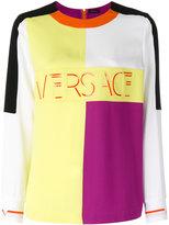Versace block panel top