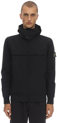 Stone Island HOODED TECHNO SOFT SHELL JACKET