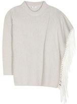 Edun Fringed wool sweater