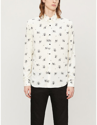 The Kooples Floral woven shirt