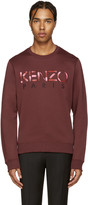 Kenzo Red Logo Pullover