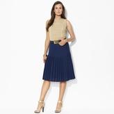 Ralph Lauren Knee-Length Pleated Skirt