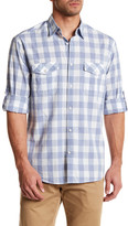 James Campbell Kelley Plaid Regular Fit Shirt