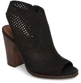 Lucky Brand Women's Lizara Perforated Block Heel Sandal
