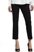 Lafayette 148 New York Jodhpur Cropped Pants, Black