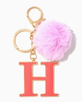 Charming charlie Furry Initial H Keychain