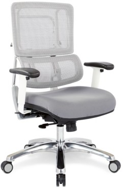 Office Star Adkin Mesh Office Chair - White