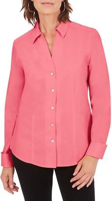 Foxcroft Lauren Non-Iron Button-Up Shirt