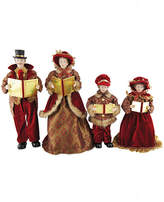 Asstd National Brand 15-18 Victorian Carolers- Set of 4