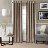 JCPenney Josie Accessories Victoria Velvet Grommet-Top Curtain Panel