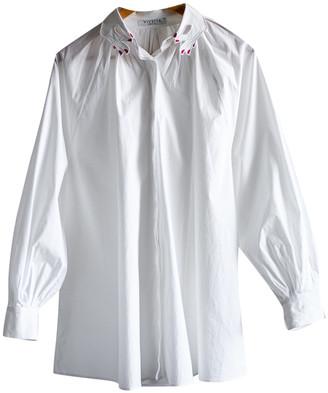 VIVETTA White Cotton Tops