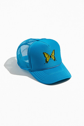 Urban Outfitters Butterfly Trucker Hat