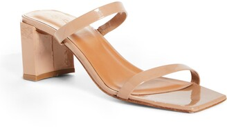 BY FAR Tanya Strappy Square Toe Sandal