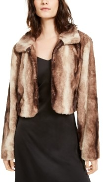 Laundry by Shelli Segal Faux-Fur Shrug