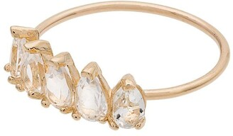 Loren Stewart 14kt Gold And Topaz Ring
