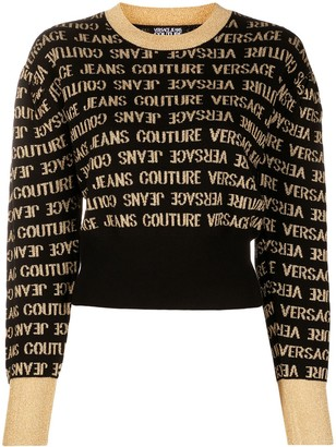 Versace Jeans Couture Repeat Logo Jumper