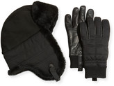 UGG Men's Trapper Hat & Smart Gloves Box Set