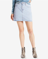 Levi's The Every Day Light Blue Wash Cotton Denim Skirt