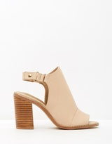 Spurr Carla Peep-Toe Booties