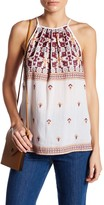 Willow & Clay Embroidered Halter Tank