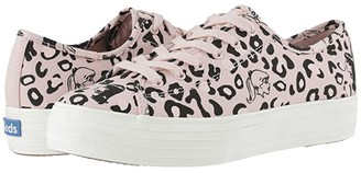 Keds x Betty and Veronica Triple Kick Leopard (Pink/Black) Women's Shoes