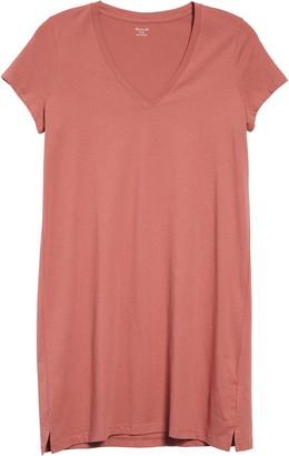 Madewell Northside V-Neck T-Shirt Dress