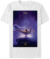 Fifth Sun Tee Shirts WHITE - Aladdin White 'Choose Wisely' Poster Tee - Adult