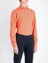Emmett London Slim-fit brushed cotton shirt