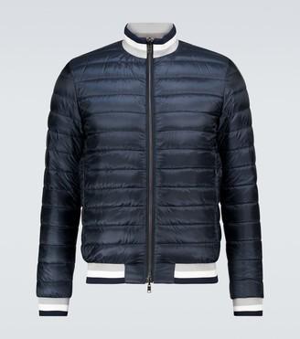 Herno Ultralight reversible nylon bomber jacket