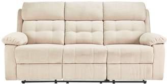 Argos Home June 3 Seater Fabric Recliner Sofa